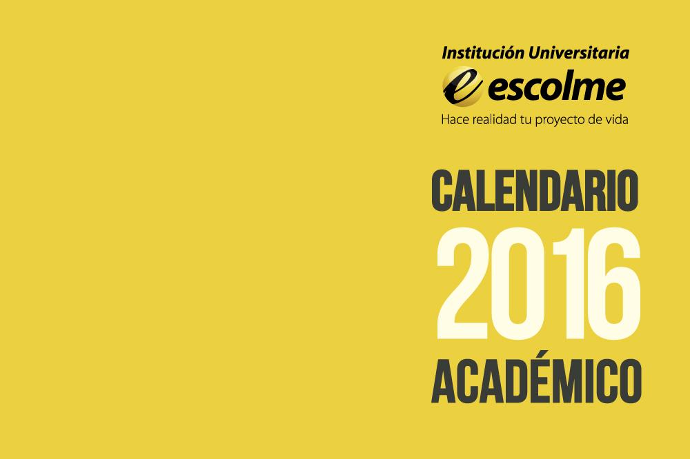 Calendario ESCOLME