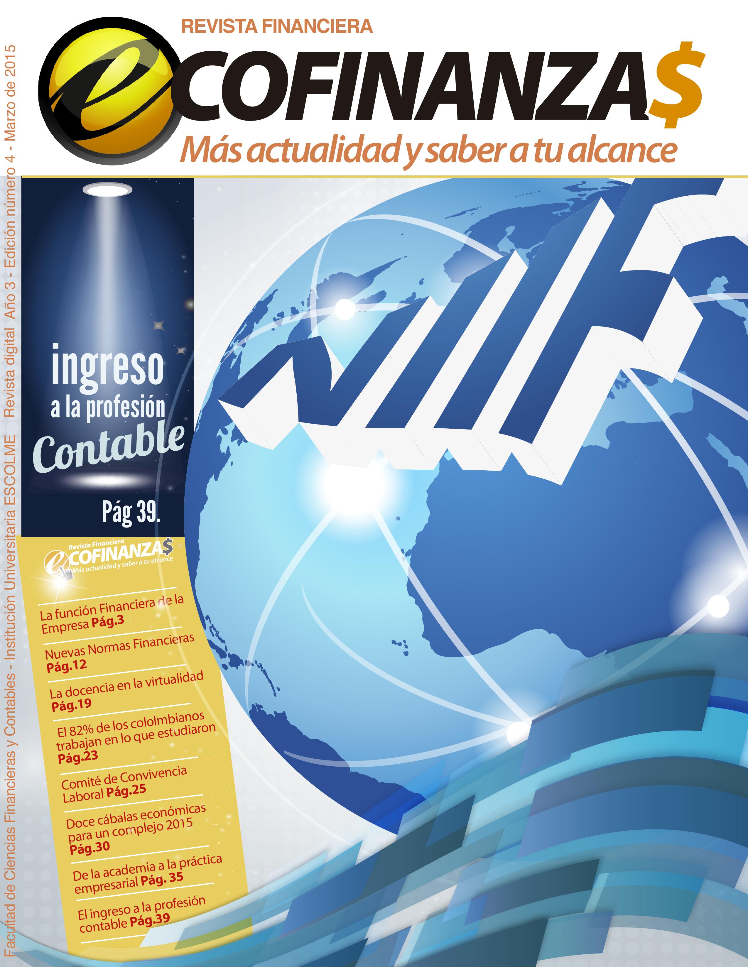 Nueva edición de la revista financiera ESCOLME