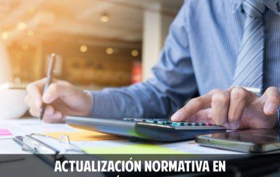 Actualización normativa en contabilidad, ética y aseguramiento