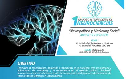 Participa en el 1er. Simposio Internacional en Neurociencias