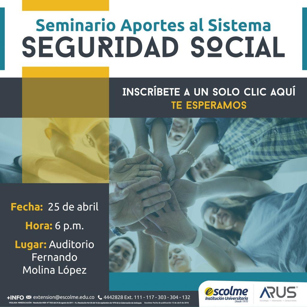 Seminario Seguridad Social