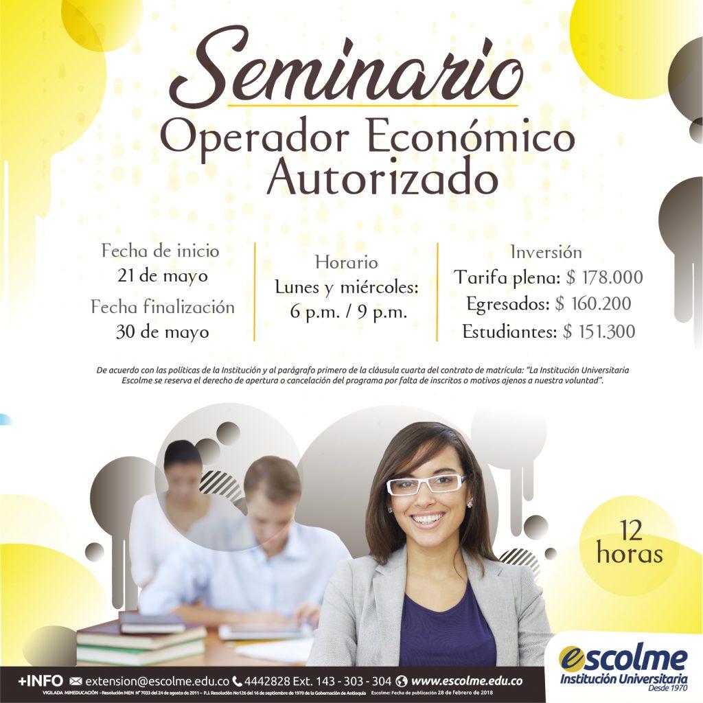Seminario Operador Económico