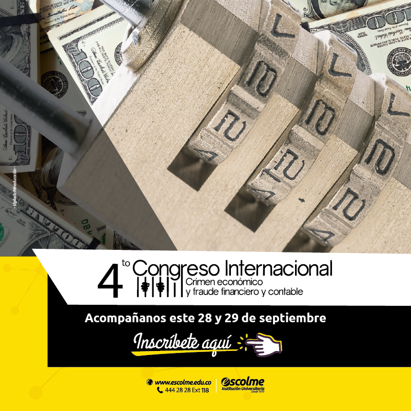 4to Congreso internacional Crimen económico y fraude financiero y contable