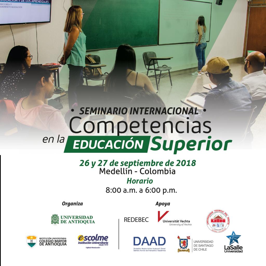Seminario Internacional Competencias en la Educación Superios