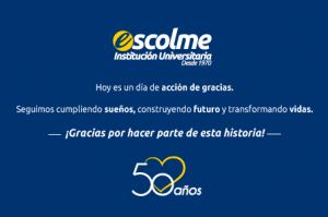 50 Años Apostándole a la Educación de la Región
